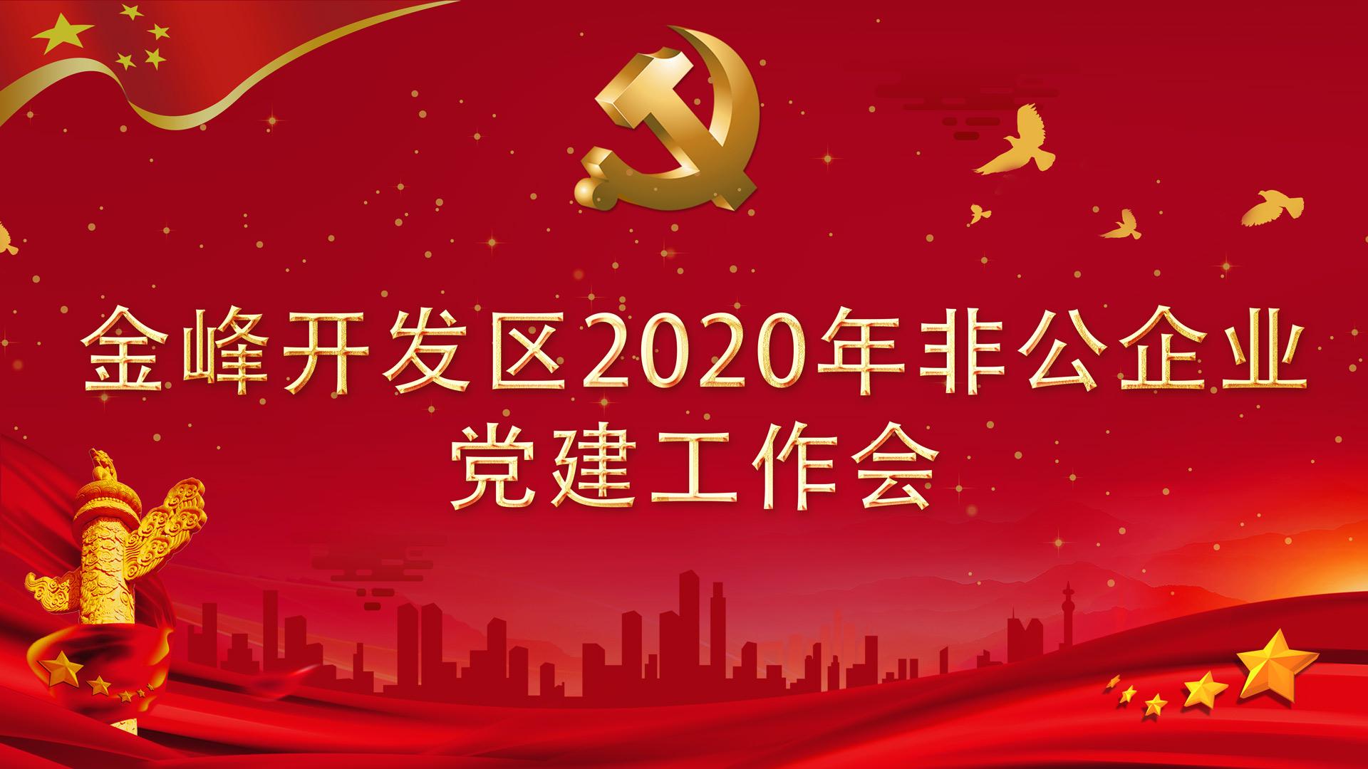 金峰开发区非公党建现场会在我司召开